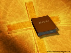 cross & Bible2
