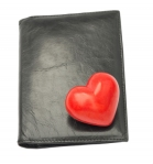 wallet with heart