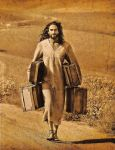 Jesus with bags