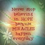 Hope - Miracles